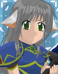 Valkyrie Profile - Lenneth by Ledah