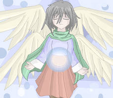 Angel Angela by Ledah