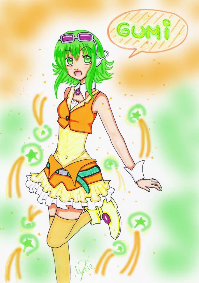 megpoid gumi by aliza-chan