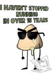 I Haven't Stopped Running + Available On RedBubble