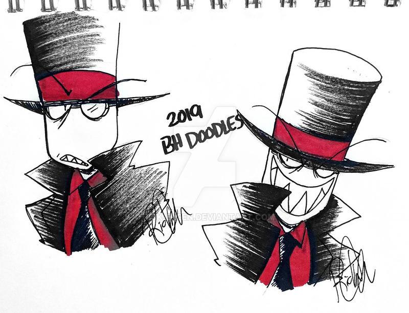 9b72e307e9a 2019 Black Hat Doodles by Rick-Elfen on DeviantArt