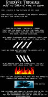 GIMP - how to create fire