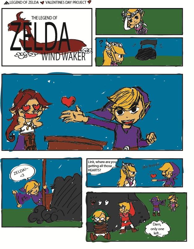 Legend Of Zelda Valentines By PenclGuy ...