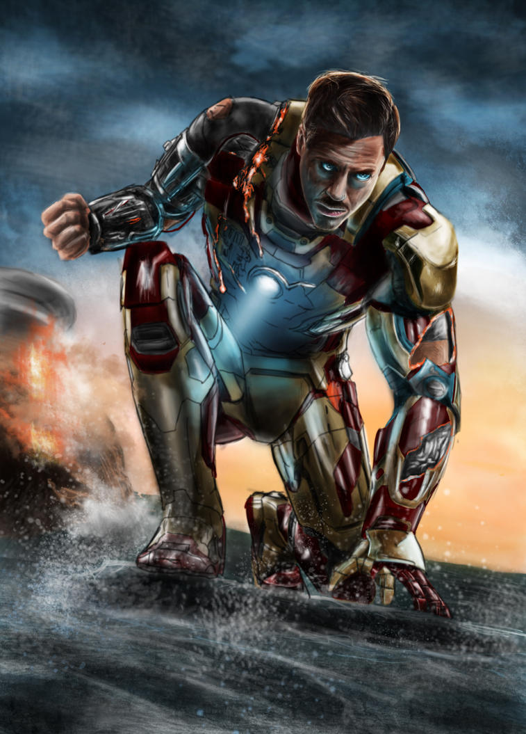 Iron Man 3 by PenclGuy