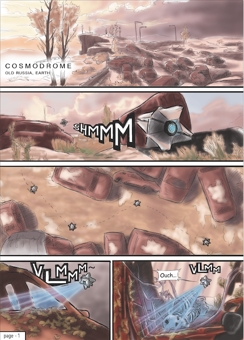 What if: Comics - DESTINY | HALO by PenclGuy