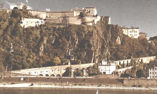 Koblenz Ehrenbreitstein by DasRosenkind
