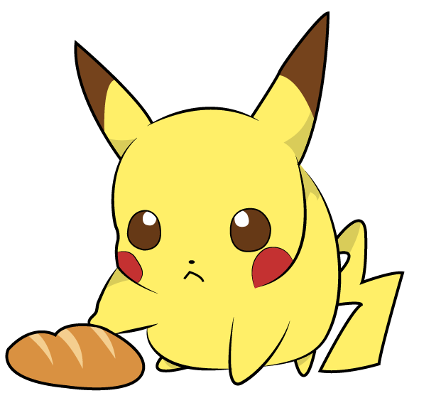 Chibi-Pikachu colored by erRgNight on DeviantArt
