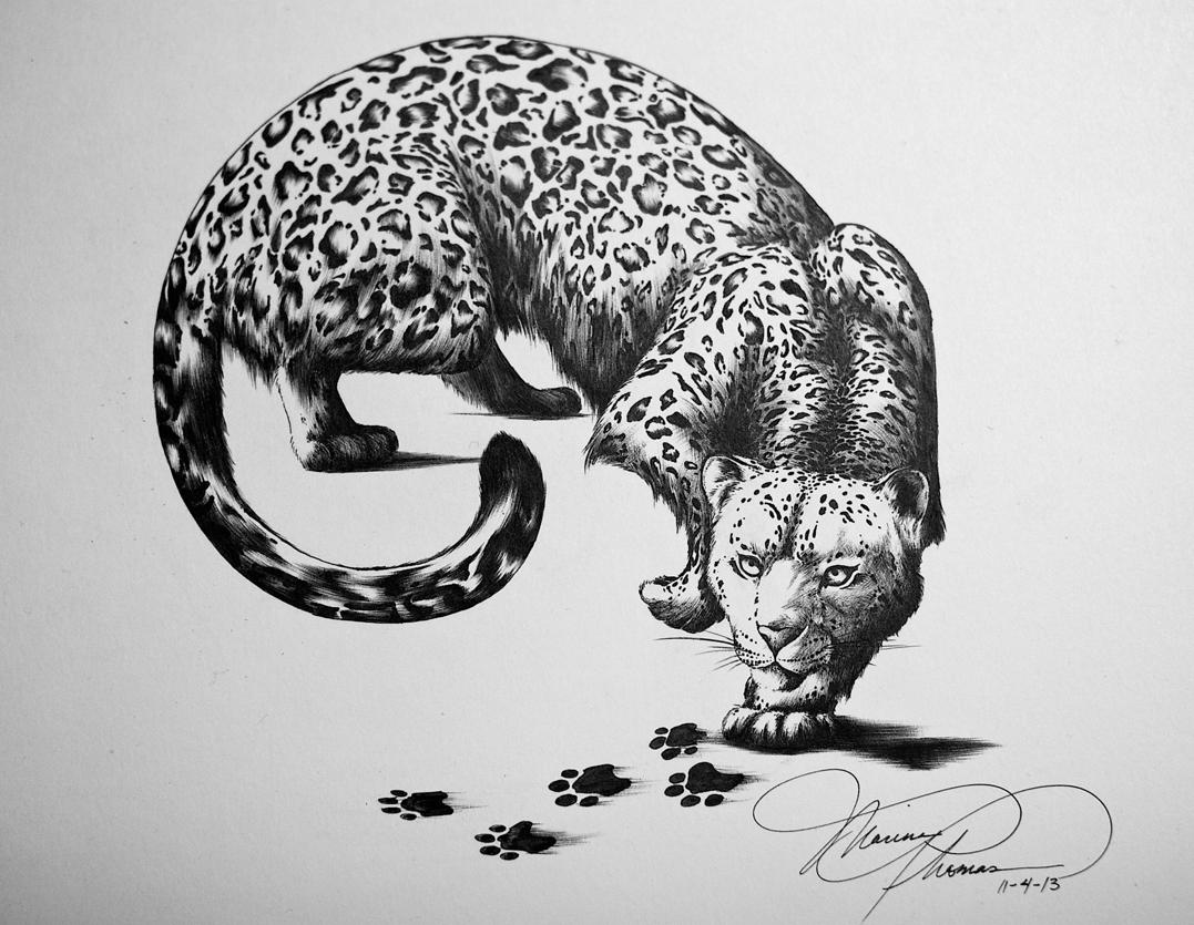 Snow leopard by iamRinaBear