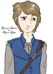 Remus Lupin as Flynn Rider by periru3