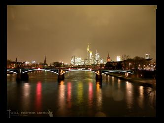 Rainy Night in Frankfurt by WillFactorMedia