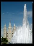 Fountain at Temple Square