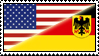 German-American Stamp by WillFactorMedia