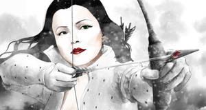 Snow White by furafura