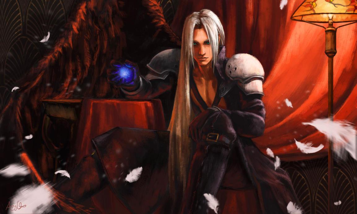 Sephiroth by furafura
