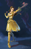 Divine Rose - Belle by furafura