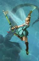 Fairy Harp - Tinkerbell by furafura