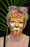 Fantasy Cat Makeup by michellica