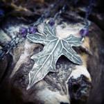 Bryonia, Bryony - Elven Leaf Necklace~