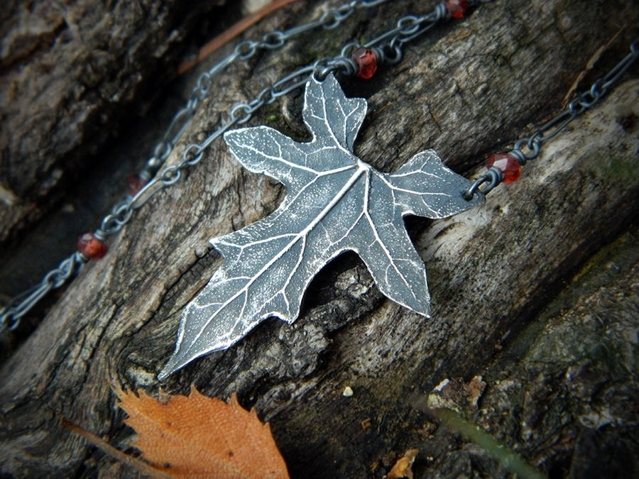 Elven Autumn Necklace~ by QuintessentialArts