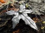 Bryonia, Bryony - Elven Leaf - Emerald CZ