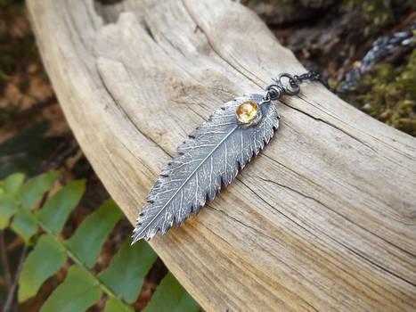 Carnelian Rowan Berry Earrings Sterling Silver  by Quintessential Arts