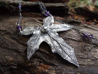 Bryonia, Bryony - Elven Leaf Amethyst~ by QuintessentialArts