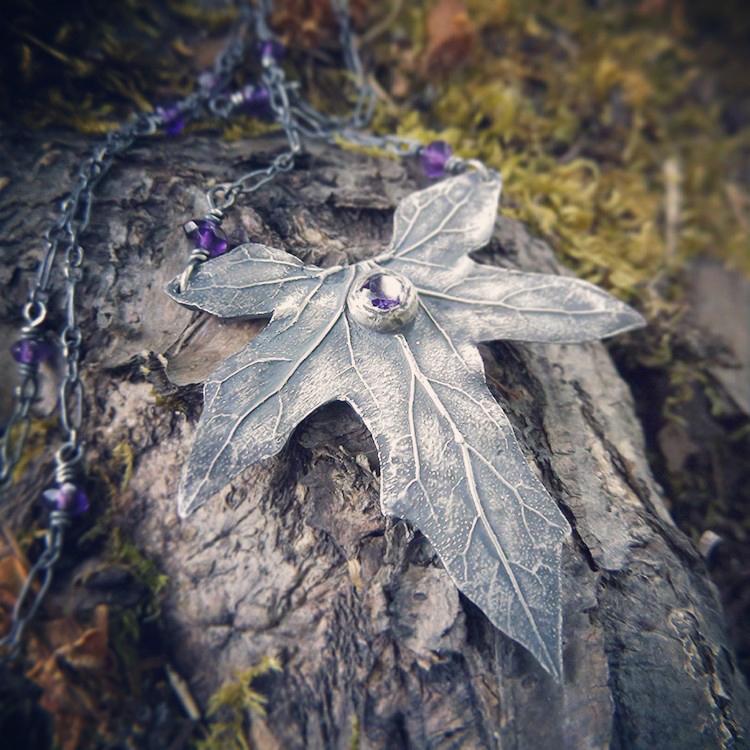 Bryonia, Bryony - Elven Leaf Amethyst~~ by QuintessentialArts