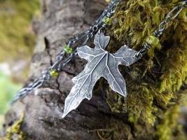 Bryonia - Elven Leaf, Moss Tourmaline