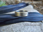 Nevermore - Crow Feather - Handmade Silver Ring