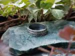 Handmade Pure Silver Yarrow Ring