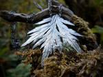 Artemisia vulgaris - Mugwort Leaf - Necklace by QuintessentialArts