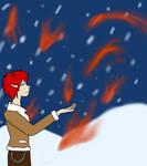 Eight Flames A-Burning by theDarkessLight