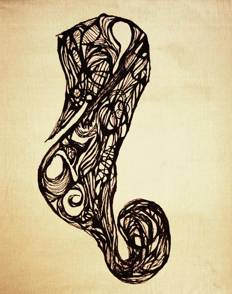 Thing - Seahorse by nartneskenjake