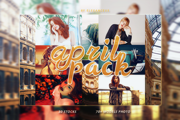 April Resource Pack by eleganceuss