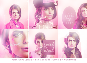 Pink Icons. by blurryparanoid
