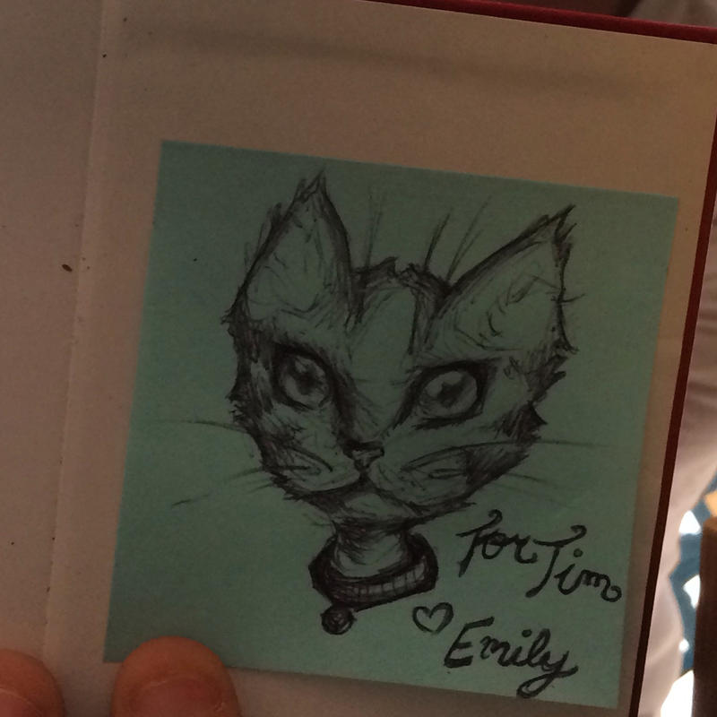 Cat Doodle by MooseKatEd