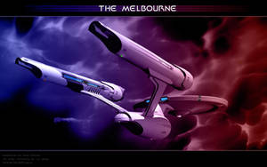 Federation Starship Melbourne2 by Joran-Belar