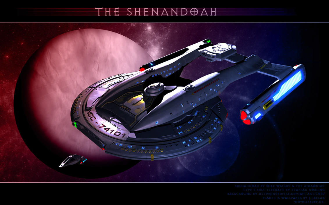 ST: The Shenandoah by Joran-Belar