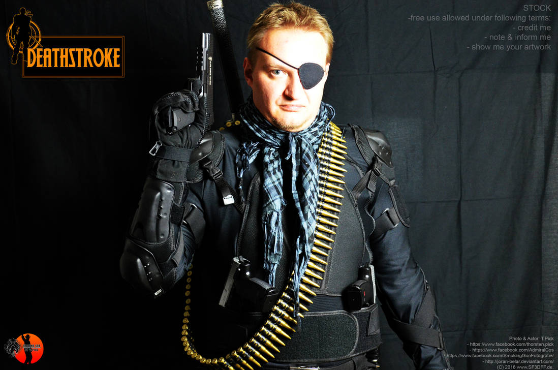 Slade Wilson aka Deathstroke Stock 04 by Joran-Belar