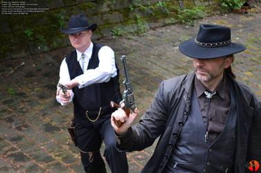 The Gunslinger - Outdoorshooting47 by Joran-Belar