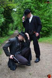 The Gunslinger - Outdoorshooting51 by Joran-Belar