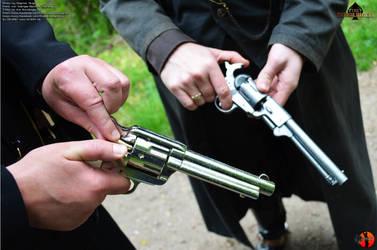 The Gunslinger - Outdoorshooting53 by Joran-Belar