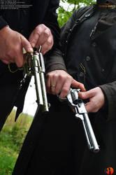 The Gunslinger - Outdoorshooting54 by Joran-Belar