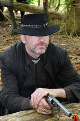 The Gunslinger - Outdoorshooting55 by Joran-Belar