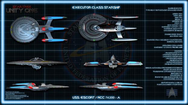 Star Trek: Unity One - USS Escort Ortho Chart