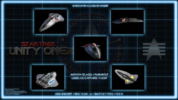 Star Trek Unity One - Captains Yacht Chart