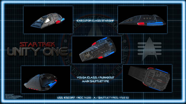 Star Trek Unity One - Runabout Chart