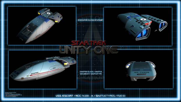 Star Trek Unity One - Chaffee Shuttle Chart