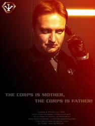 PSI Cop Cosplay - Poster by Joran-Belar