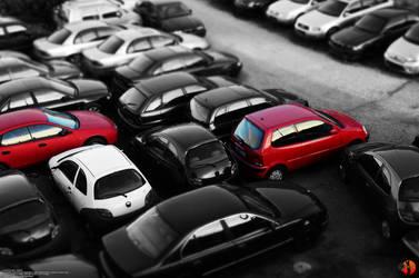 Red Cars by Joran-Belar